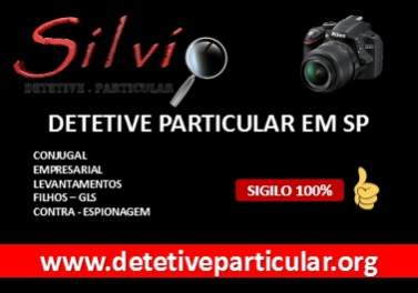 Detetive particular sp | detetive silvio | detetives sp | in