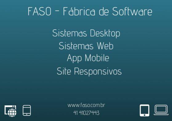 Faso - fábrica de  software
