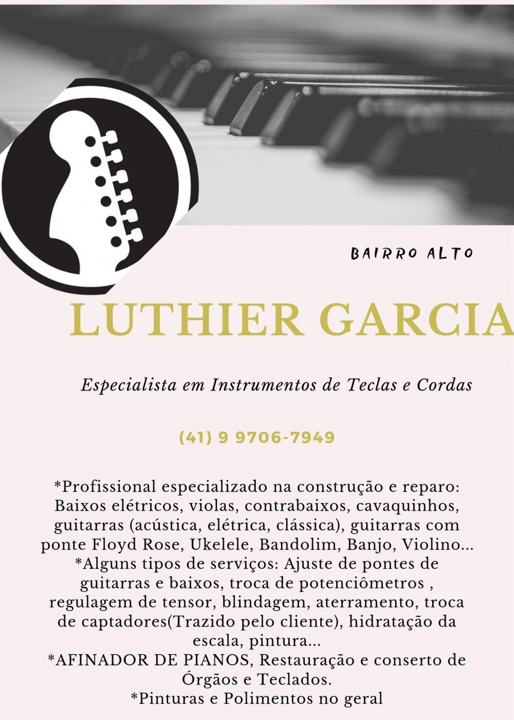 Luthier giovanny garcia