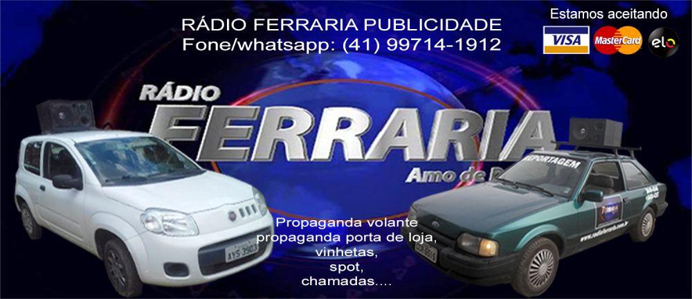 Rádio ferraria publicidade